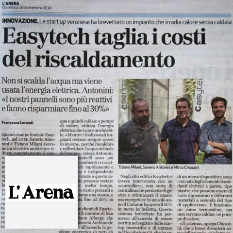 sistema CALDO l'Arena di Verona