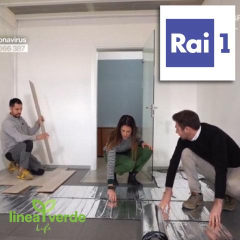 sistema CALDO RAI1 Linea Verde Life