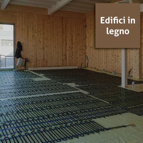 sistema CALDO edifici in legno