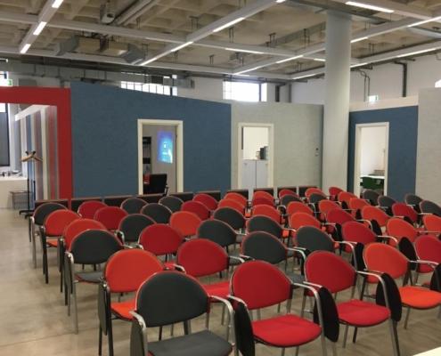 Easytech sistema CALDO Ristrutturazione uffici CENSER t2i