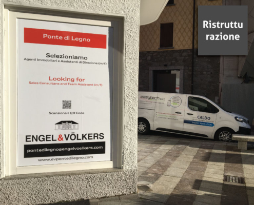 asytech sistema CALDO Nuova sede Engel e Volkers